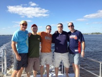 Orrin, Lucas, Dan, Dave, Lyndon : New Years - Port St. Lucie, FLA